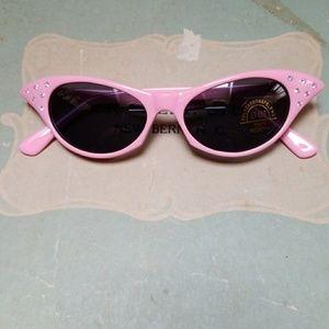 Cat Eye Sunglasses Rhinestone 50s Retro Style
